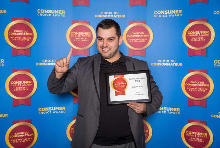 CyberPublicity Wins Award for Top Marketing Agency in Montreal